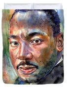 Martin Luther King Jr. Painting Duvet Cover