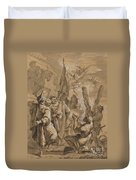 Martyrdom Of Saint Andrew Duvet Cover