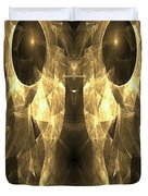 Marucii 168-03-13 Gold Mask Duvet Cover