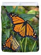 Marvelous Monarchs Duvet Cover