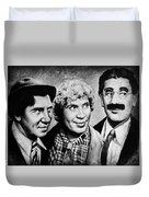 Marx Bros Duvet Cover