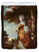 Mary Amelia First Marchioness Of Salisbury Duvet Cover by Sir Joshua Reynolds