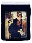 Mary Cassatt (1845-1926) Duvet Cover