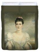 Mary Gardiner Thompson Duvet Cover
