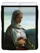 Mary Madgalen Duvet Cover by JR Herbert