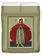 Mary Of The Magnificat Mother Of The Poor 091 Duvet Cover