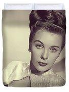 Mary Stuart, Vintage Actress Duvet Cover
