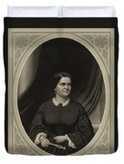 Mary Todd Lincoln, First Lady Duvet Cover