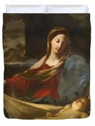 Mary With Child 1635 Duvet Cover