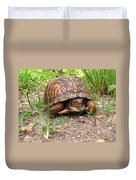 Maryland Box Turtle Duvet Cover