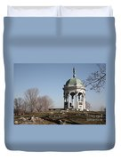 Maryland Monument At Antietam Duvet Cover