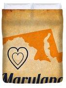 Maryland Vintage Duvet Cover