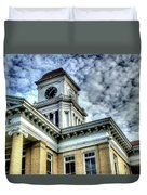 Maryville Tennessee Courthouse 3 Duvet Cover