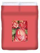 Ma's Roses 4 Duvet Cover