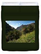 Masca Valley And Parque Rural De Teno 2 Duvet Cover