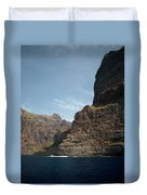 Masca Valley Entrance 1 Duvet Cover