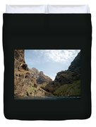 Masca Valley Entrance 2 Duvet Cover