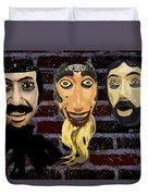 Mascaras 1 Duvet Cover