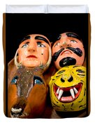 Mascaras 4 Duvet Cover