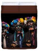 Mascaras Duvet Cover
