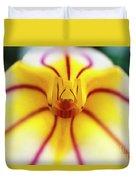 Masdevallia Orchid Duvet Cover