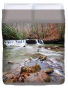 Mash Fork Falls Duvet Cover