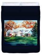 Massachusetts Home Duvet Cover