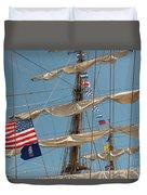 Mast Flags Duvet Cover