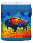 Master Of His Herd Duvet Cover