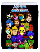 Masters Of The Universe Collage Duvet Cover
