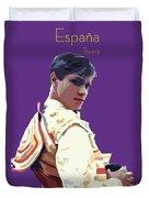 Spanish Matador Duvet Cover