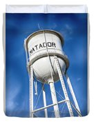 Matador Water Tower Duvet Cover