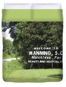 Matchless Manning Duvet Cover