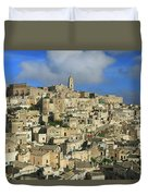 Matera Italy Duvet Cover