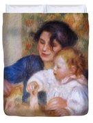 Maternal Love Duvet Cover