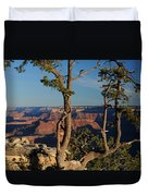 Mather Point South Rim Grand Canyon Duvet Cover