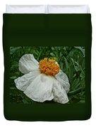 Matilija Poppy Four Duvet Cover