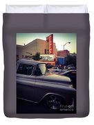 Matinees And Trucks Duvet Cover