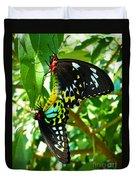 Mating Butterflies Duvet Cover