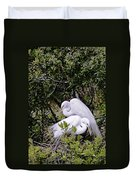 Mating Season Duvet Cover