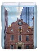 22- Matt V. Group At The Old State House In Boston, Massachusetts On August 26, 2016 Duvet Cover