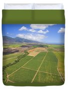 Maui Farmland Duvet Cover