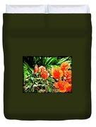 Maui Floral Duvet Cover