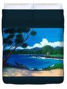 Maui Inlet Duvet Cover