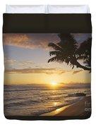 Maui, Kaanapali Beach Duvet Cover