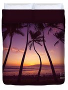 Maui Palms Duvet Cover