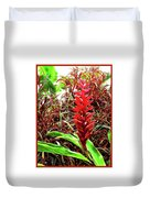 Maui Tropical Floral Duvet Cover