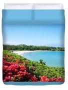 Mauna Kea Beach Duvet Cover