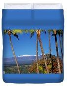 Mauna Kea  Duvet Cover