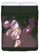 Mauve Blossom Duvet Cover